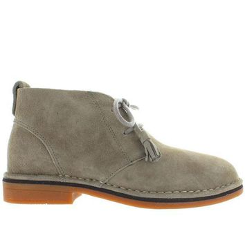 Hush Puppies Cyra Catelyn   Taupe Suede Chukka Boot