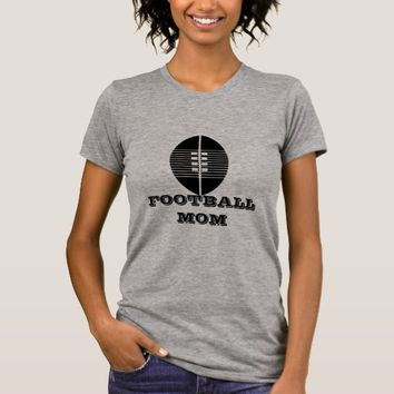 Football Mom Apparel Crew Neck T-Shirt