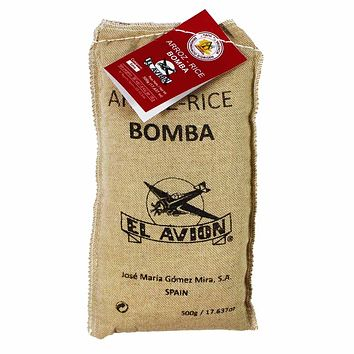 El Avion - Bomba Paella Rice, Spain, 17.6 oz. (500g)
