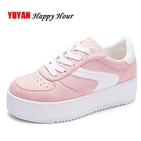 SHOES PLATFORM Women's Sneakers Height Increase (4 Colors)