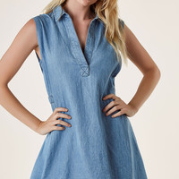 Out Of Office Tunic Dress