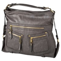 Double Pocket Hobo - Grey