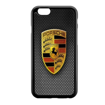 Simple porsche logo iPhone 6 Case