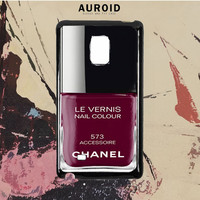 Chanel Nail Polish Accessoire Samsung Galaxy Note 5 Edge Case Auroid