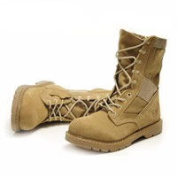 Men winter boots Genuine Leather Tactical Men's working Combat Hunting Military Boots