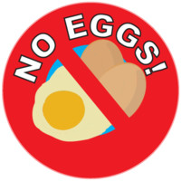 No Eggs! | kidecals