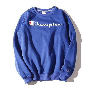 Champion Men Women Fashion High Quality Sweatshirts Top Pullover Sweater