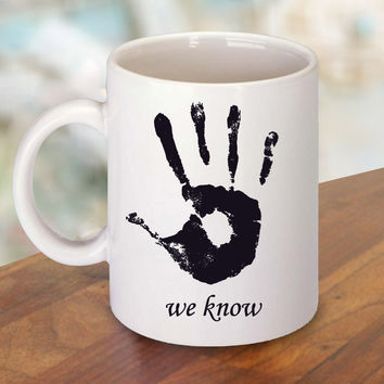 Skyrim Dark Brotherhood We Know Mug and Cup / Custom Mug / Custom Cup