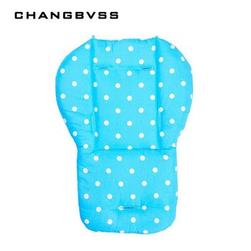 5 Colors Cheap Baby Stroller Cushion, Pram Padding Liner/Car Seat Pad Waterproof Child Pushchair Feeding Chair Thick Mat