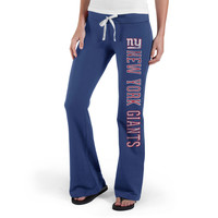 Womens '47 Brand Royal New York Giants Pep Rally Pants