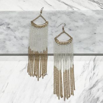 Aphra Shoulder Duster Earrings