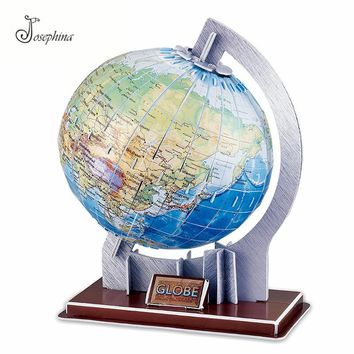 3D Earth and Solar System Paper Puzzles DIY Model Kits Toy 3D Horoscope Puzzles Wooden Puzzles Toy for Kids