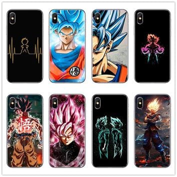 Dragon Ball DragonBall z goku Phone Matte plastic Back Case Cover Shell For hard PC For iPhone 4 5 6 7 8 Plus X Fundas Coque