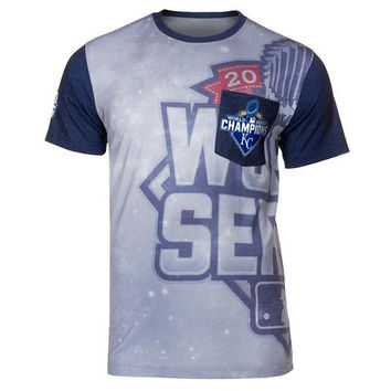 Kansas City Royals Official MLB 2015 World Series Champions Pocket Tee