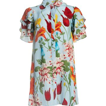 JEM SHORT SLEEVE SHIRT DRESS | Alice + Olivia