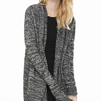 Marl Hooded Coverup from EXPRESS
