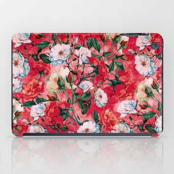 Rose Red iPad Case by RIZA PEKER