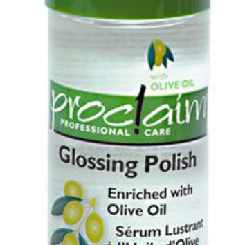 Glossing Polish with Olive Oil