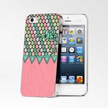 Kitty Pink And Green iPhone 4s iphone 5 iphone 5s iphone 6 case, Samsung s3 samsung s4 samsung s5 note 3 note 4 case, iPod 4 5 Case