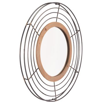 Antique Tron Wall Mirror