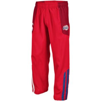 adidas Los Angeles Clippers Red On-Court Warm-Up Pants
