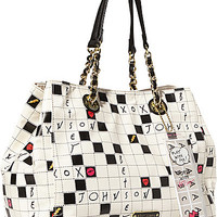 KITCHI CROSSWORD TOTE