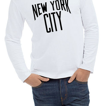 New York City Long Sleeve T-shirt  Man Size S,M,L,XL,XXL
