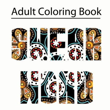 Swear Word Coloring Book: Adult Coloring Book Featuring Filthy Swear Words