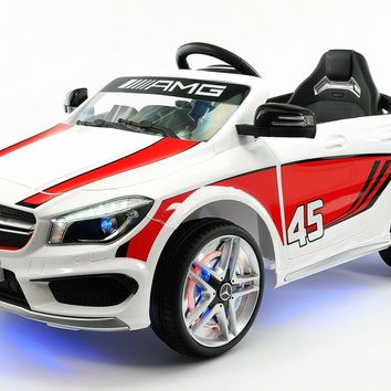 Mercedes CLA45 AMG 12V Kids Ride-On Car With Parental Remote