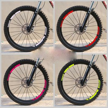 SRAM Wheel Rim stickers Handmade champion Stickers For mountain bike Bicycle SRAM MTB Race replacement decal free shipping