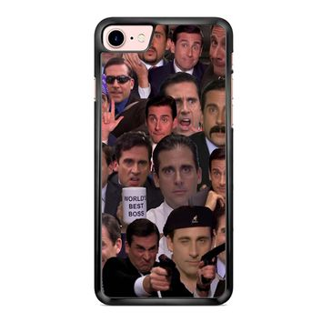 Michael Scott Collage 1 iPhone 7 Plus Case