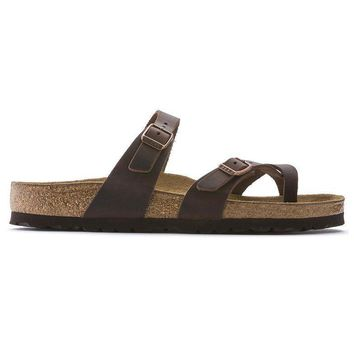 Birkenstock Mayari Oiled Leather Habana 0171321/0171323 Sandals - Ready Stock