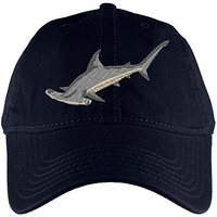 Hammerhead Shark Navy Adjustable Cap