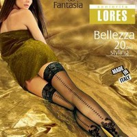Patterned Hold ups with Back Seam Bellezza 20Den [lorbellez01] - £10.35 : tights, leggings, hold-ups, patterned tights, fishnets