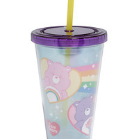 Care Bears Purple Acrylic Travel Cup