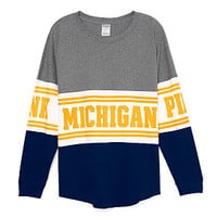 University of Michigan Bling Varsity Crew - PINK - Victoria's Secret
