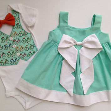 Sibling Spring Outfits, Easter Twins Outfits, Matching Sibling Outfits, Brother Sister Outfit, Big Sister Little Brother