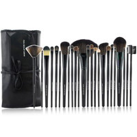 Black 24-Piece Essential Brush Collection