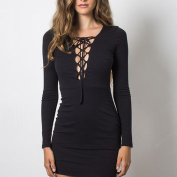 Brooklyn Karma Tie Me Up Dress