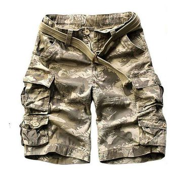 2017 Summer Mens US Military Tactical Camouflage Cargo Shorts Army Special Police Soldier Clothes Camo Short Pants Plus Size