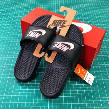 Nike Benassi Duo Ultra Slid Black Sandals - Best Online Sale