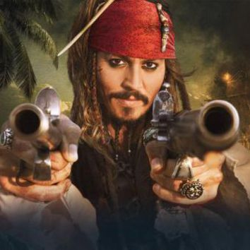 Pirates Of The Caribbean Stranger Tides movie poster Sign 8in x 12in