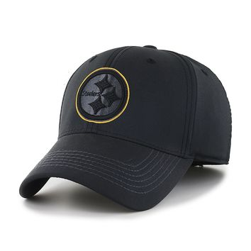 Pittsburgh Steelers Black Out Football Hat