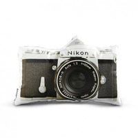 Aldea Home | Vintage Nikon F Pillow