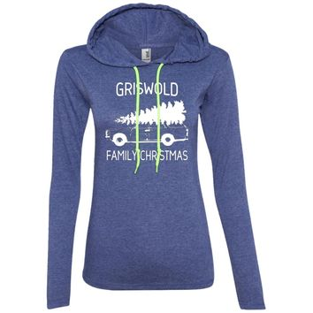 Griswold-Family-Christmas 887L Anvil Ladies' LS T-Shirt Hoodie