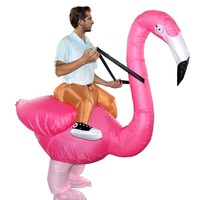 Innovative Toy Halloween Christmas Flamingo Cosplay Costume Inflatable Spoofing Costume Props