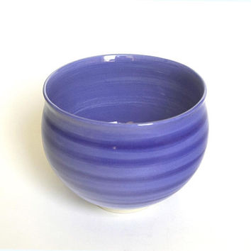 Porcelain bowl, ceramic bowl, blue porcelain bowl, serving bowl, handmade, blue pottery bowl