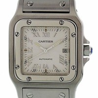 Cartier Santos Galbee Automatic-self-Wind Female Watch 2319 (Certified Pre-Owned)