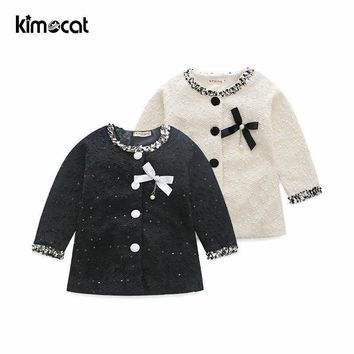Trendy Kimocat Spring Autumn Baby Girl Clothes Long Sleeve Outerwear Fashion Girls Boys Clothing Outerwear Coats AT_94_13