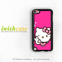 Hello Kitty Girl iPod Touch 4 Case iPod Touch 5 Case